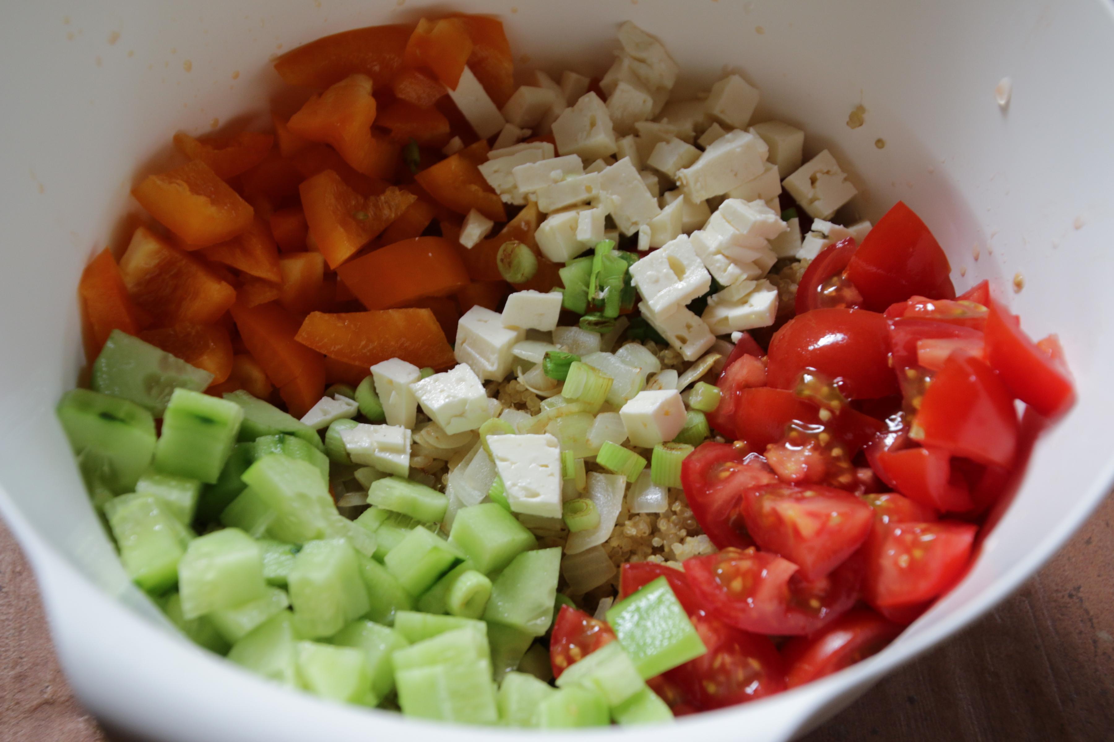 Quinoa Salat- mein Rezept