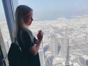 Atemberaubender Blick vom Burj Khalifa