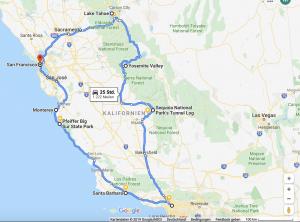 Roadtrip USA Westküste