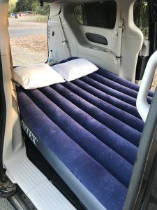 USA Roadtrip - im Auto schlafen