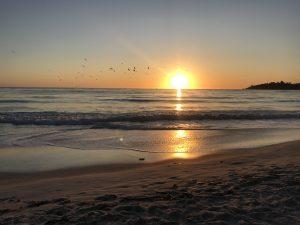 Sonnenuntergang USA
