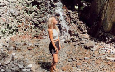 Wanderung zum Wasserfall auf La Gomera